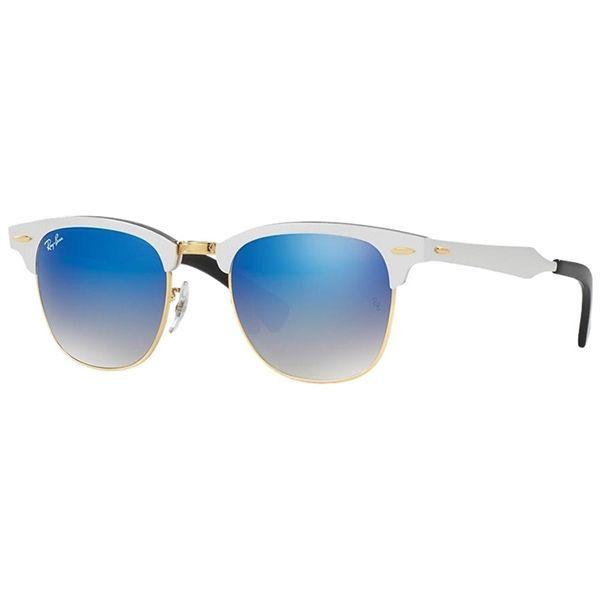 Óculos de Sol Ray Ban   Óculos de Sol Ray Ban Clubmaster Aluminium ... e7e13fc07f