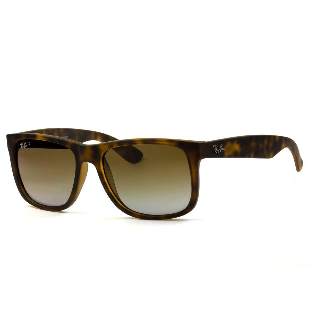 Óculos de Sol Ray Ban   Óculos de Sol Ray Ban Justin RB4165L-865 T5 55 43888567d5