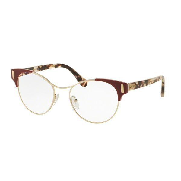 8f82763fb57c3 Óculos de Grau Prada PR61TV-VAX1O1