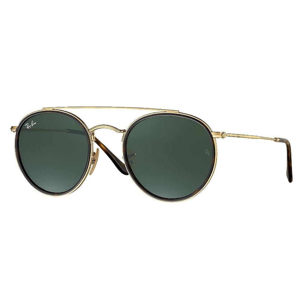 58516c7fb0e7a Óculos de Sol Ray Ban Round Ponte Dupla RB3647N-001 7Q 51