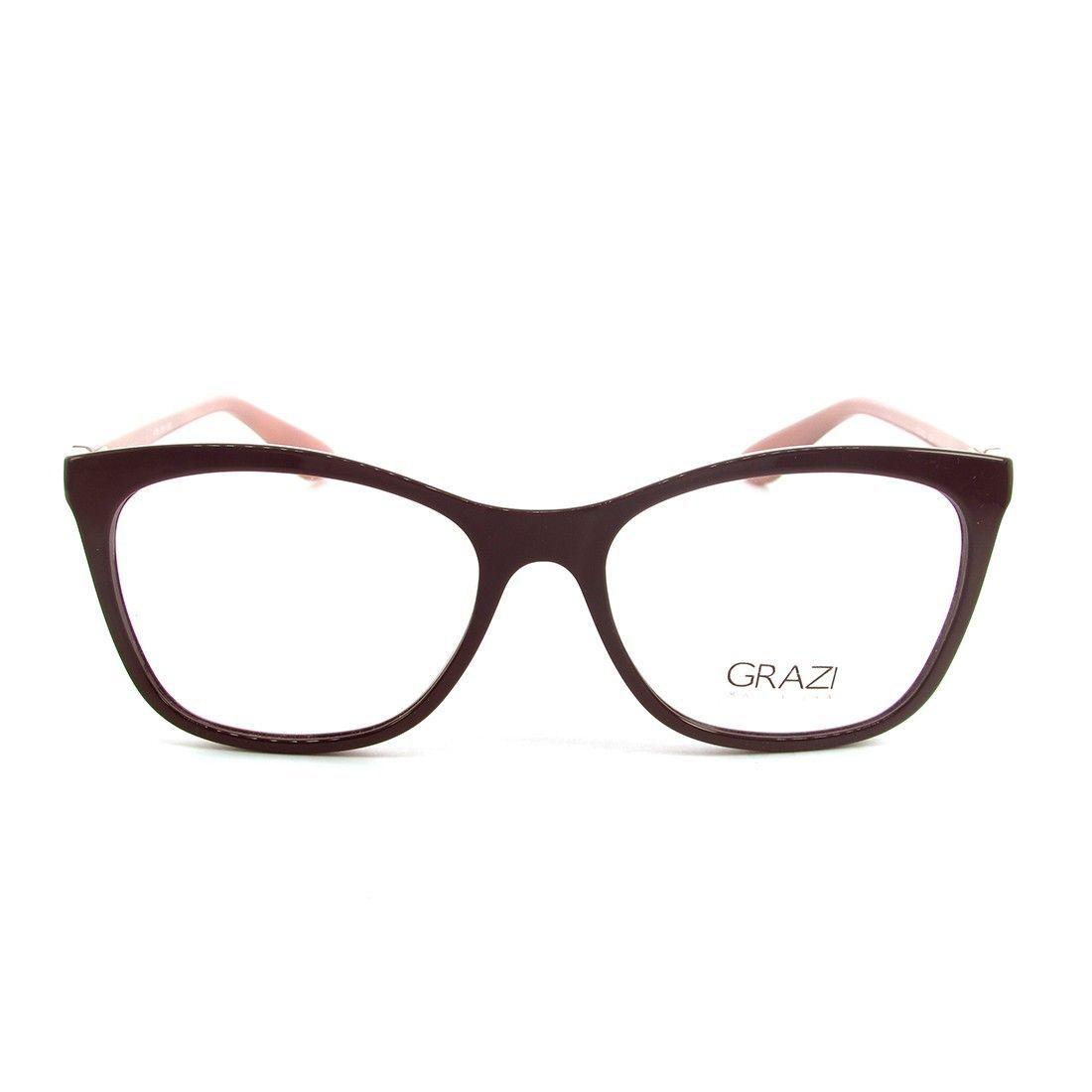 510fcdab4c435 Óculos de Grau Grazi Massafera GZ3025-E394 53