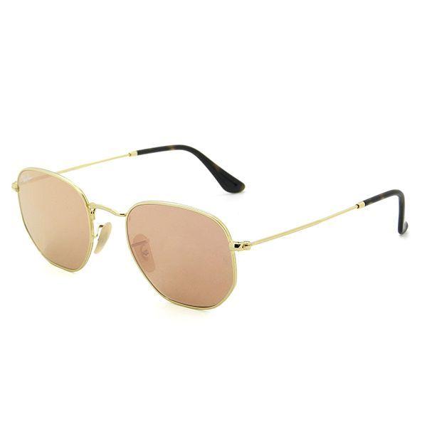 40e07a0520cd9 Óculos de Sol Ray Ban   Óculos de Sol Ray Ban Hexagonal RB3548NL-001 ...