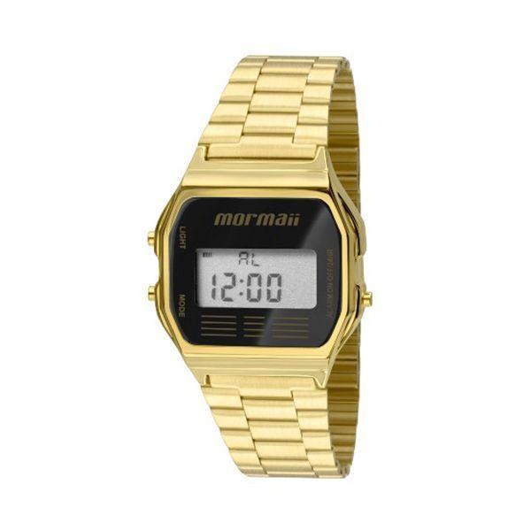 Relógio Mormaii   Relógio Mormaii Vintage Digital Dourado MOJH02AB 4P 3fcc6076e6