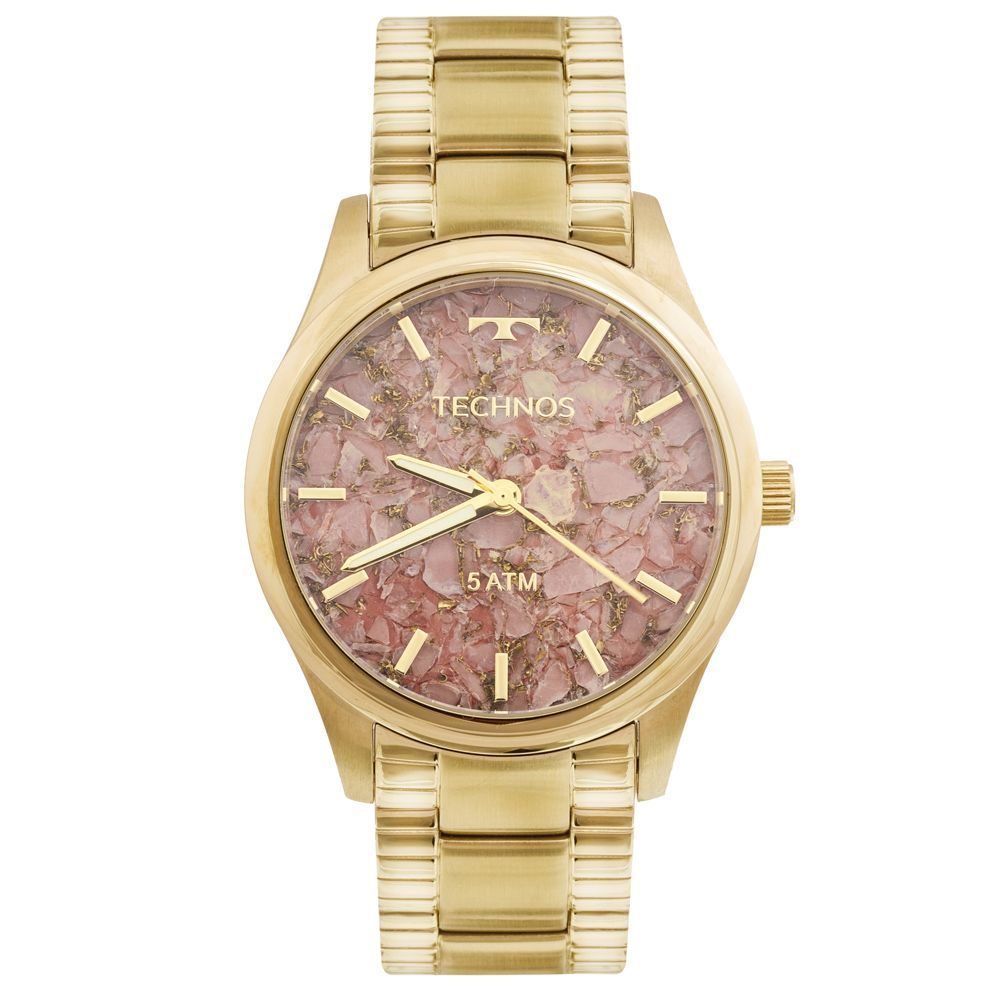 bcdc8214f8865 Relógio Technos Feminino Elegance Stone Collection 2033CN 4T