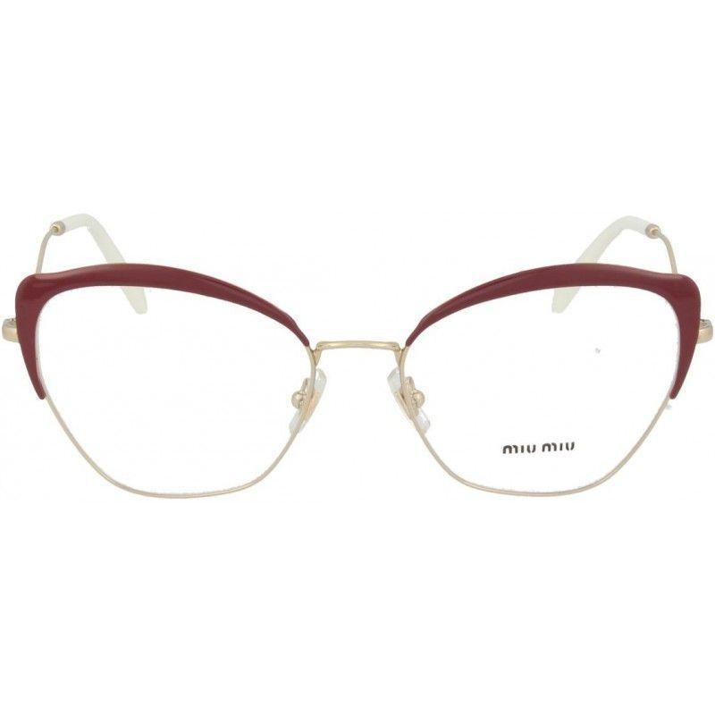 721fe0a134dec Óculos de Grau Feminino Miu Miu MU54PV-UA51O1 54