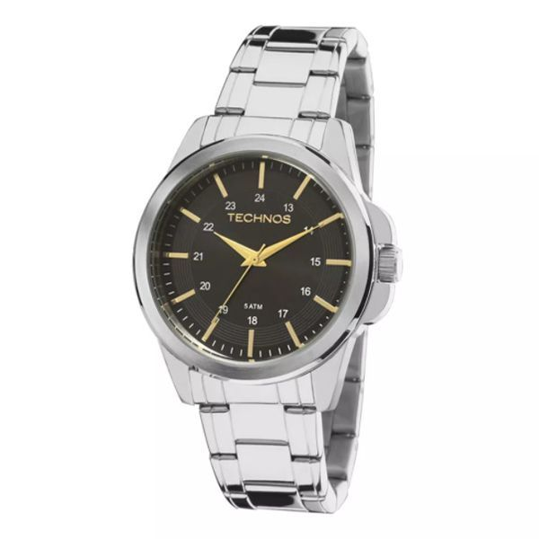 c0f3cb4d82641 Relógio Masculino Technos   Relógio Technos Steel 2035MDF 1P