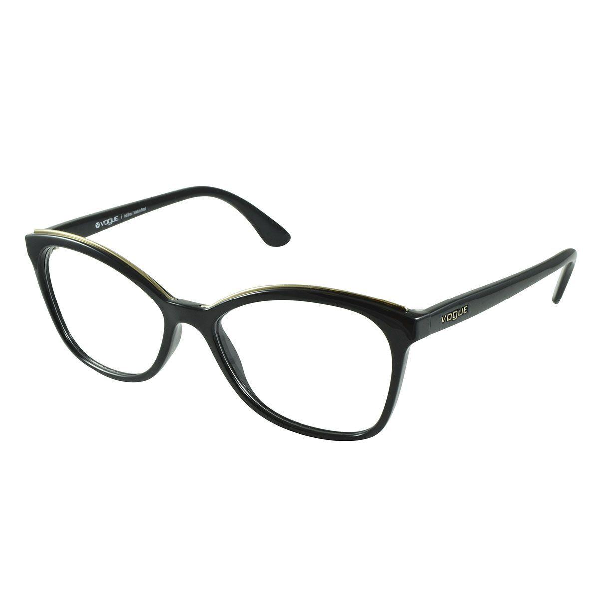 43977244bc803 Óculos de Grau Vogue VO5160L-W44 54