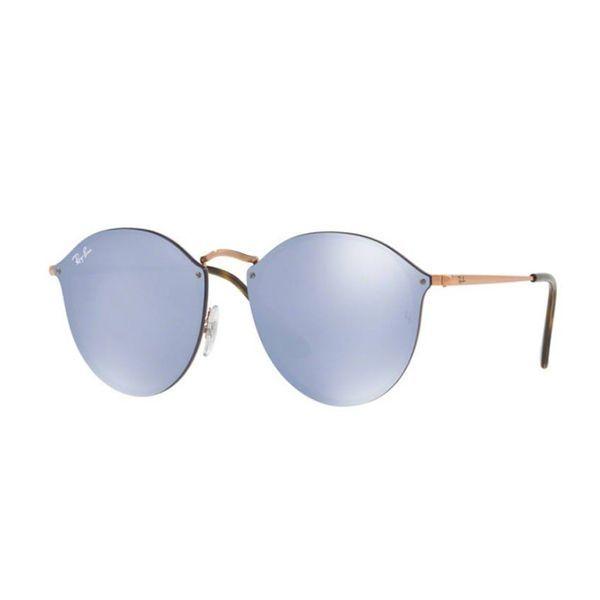 18a19265593da Óculos de Sol Ray Ban Blaze Round RB3574N-90351U