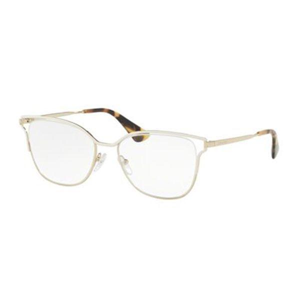3cdce118c3f79 Óculos de Grau Prada   Óculos de Grau Prada PR54UV-SL41O1 53