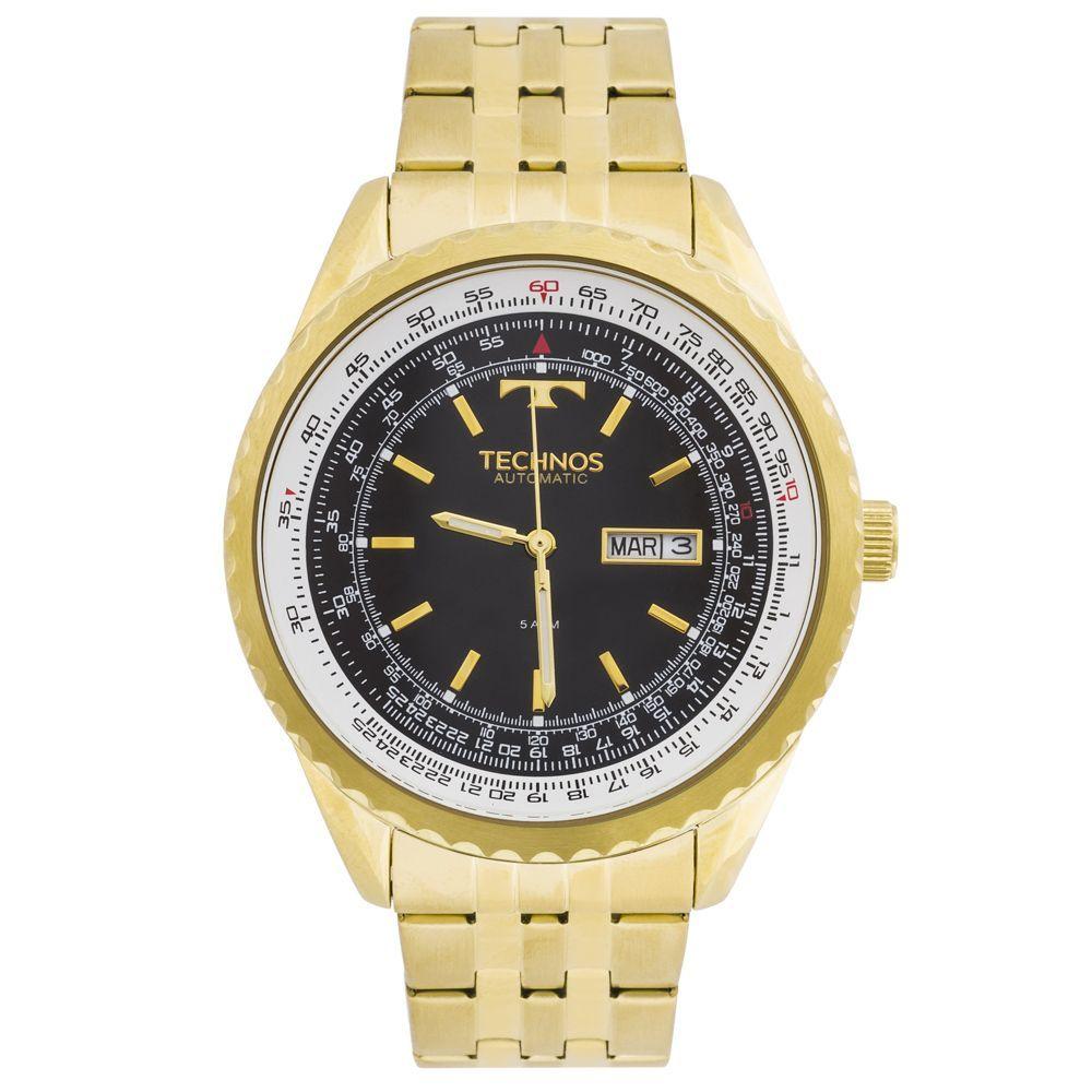 5ad18477e28 Relógio Technos Automático 8205NN 4P