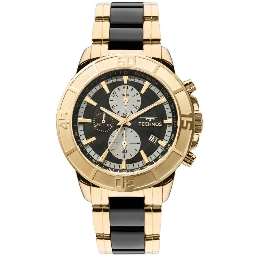 b0fc4de4a6d4d Relógio Masculino Technos Ceramic JS15ET 4P