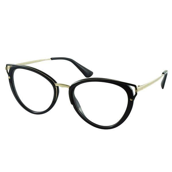 Óculos de Grau Prada Óculos de Grau Prada PR53UV-1AB1O1 52 f9f81323dfd685  ... 9266a7dcbf