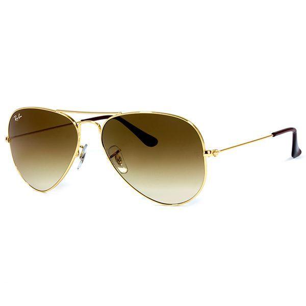 0ec473177d1ec Óculos de Sol Ray Ban   Óculos de Sol Ray Ban Aviador RB3025L-001 51 58