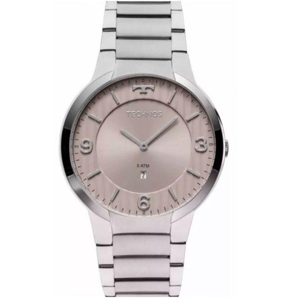 0c9cf03363f Relógio Technos Slim GL15AO 1C