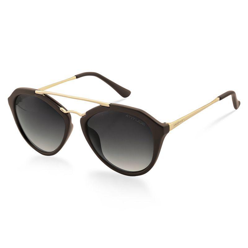 d4b64fb6d06d9 Óculos de Sol Feminino Atitude   Óculos de Sol Atitude AT5229-D02