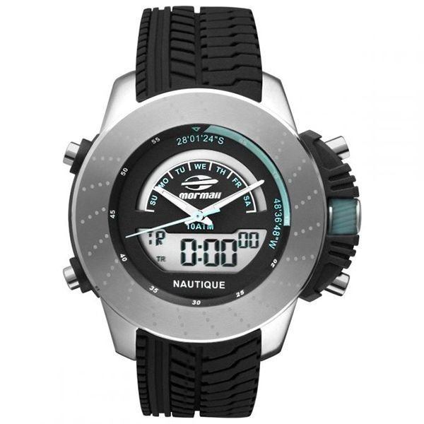 7ea8711a00355 Relógio Mormaii Nautique Anadigi MOVA001 8K