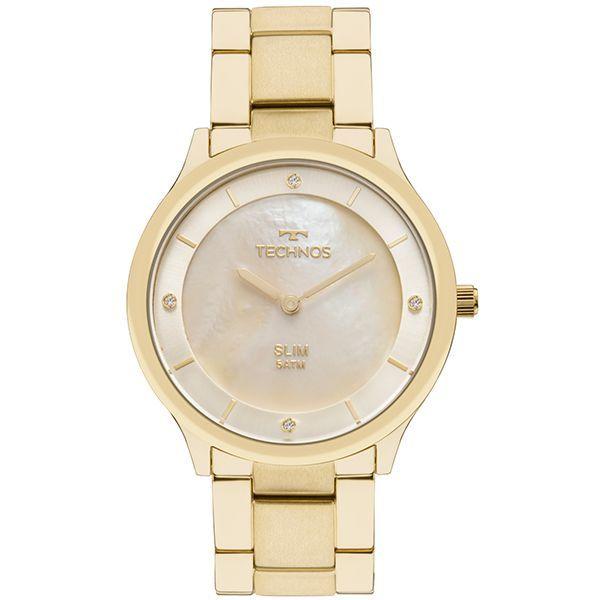 Relógio Feminino Technos   Relógio Technos Slim GL20HF 4X 1b4ee2d91e