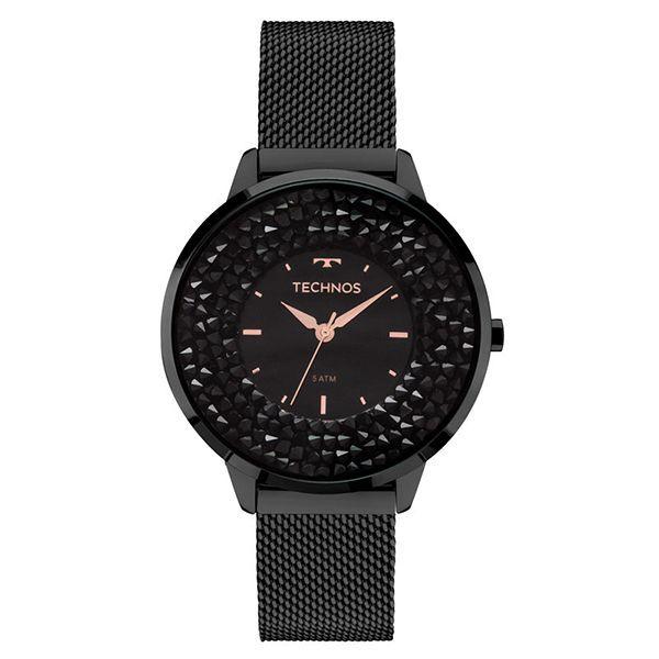 Relógio Feminino Technos   Relógio Technos Crystal 2035MLF 1P cb8968ebf1