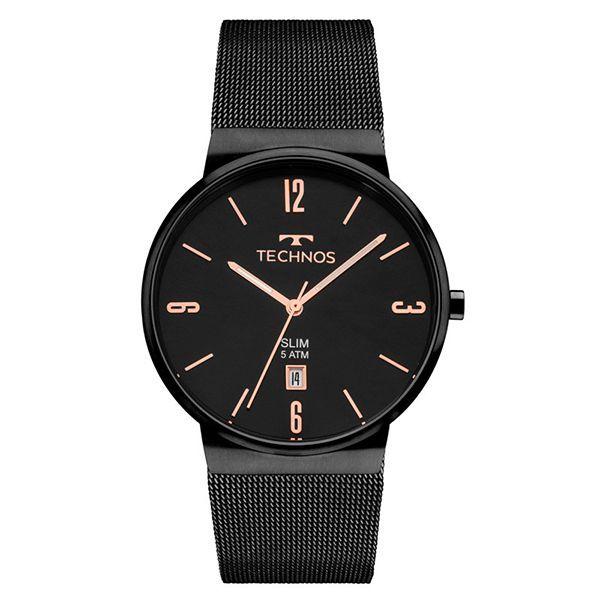 Relógio Feminino Technos   Relógio Technos Slim GM10YJ 4P 7191b6cacc