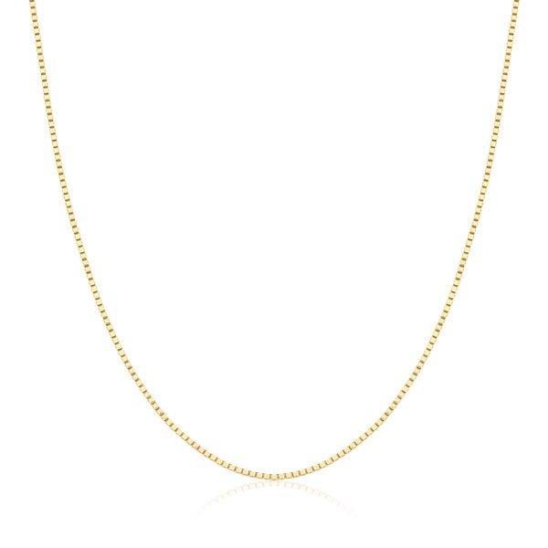 298b3f7e81f0d Correntes Safira   Corrente Veneziana 60cm em Ouro 18k