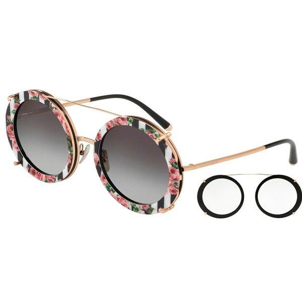 1348459343662 Óculos de Sol Dolce   Gabbana 3 em 1 DG2198-12988G 63