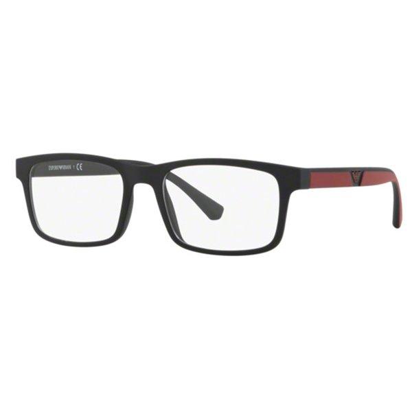 e6de7d7b10477 Óculos de Grau Emporio Armani EA3130-5042 55