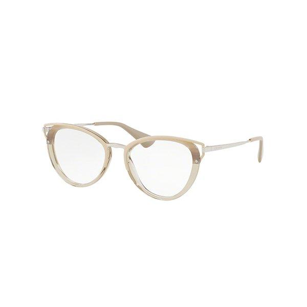 6f1ecd0b98ff9 Óculos de Grau Feminino Prada PR53UV-LKA1O1 52