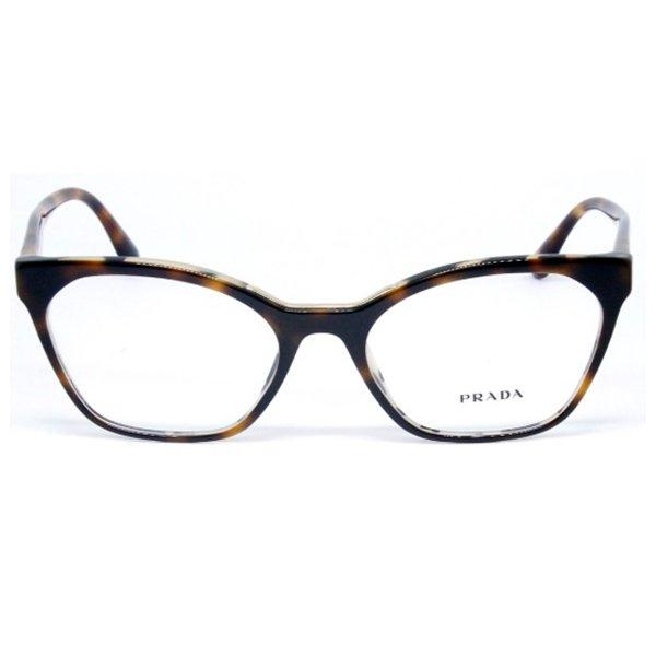 42e18cd056ca9 Óculos de Grau Feminino Prada   Óculos de Grau Prada PR09UV-TH81O1 54