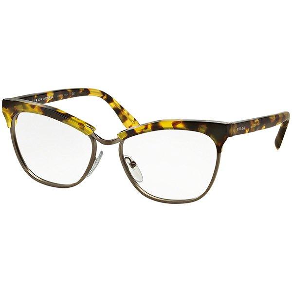Óculos de Grau Feminino Prada   Óculos de Grau Prada PR14SV-UBN1O1 55 558ec162e2