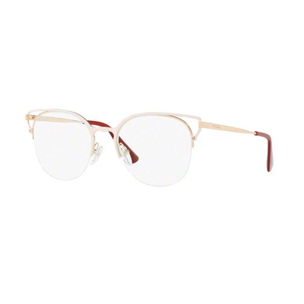 Óculos de Grau Feminino Prada   Óculos de Grau Prada PR64UV-LFB1O1 53 35fc2ae301
