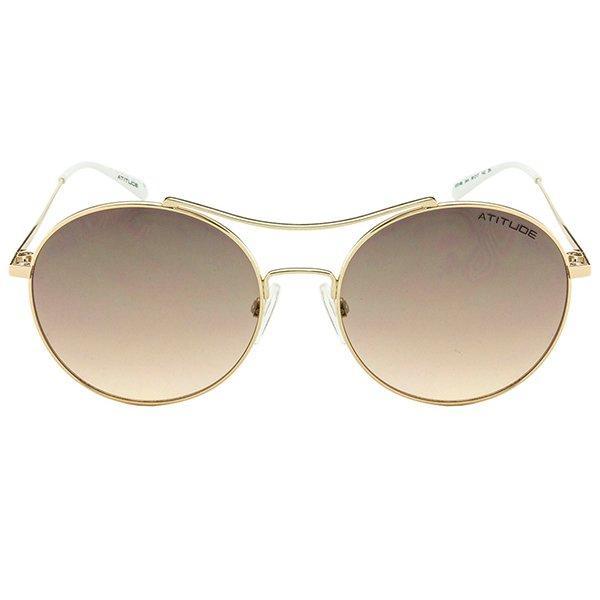 Óculos de Sol Feminino Atitude   Óculos de Sol Atitude AT3168-04A 88be9c9a04