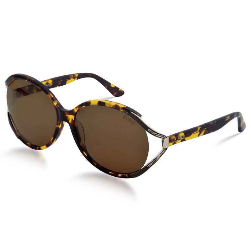 1627a766a68cd Óculos de Sol Feminino Euro   Óculos de Sol Euro C101EU 8M