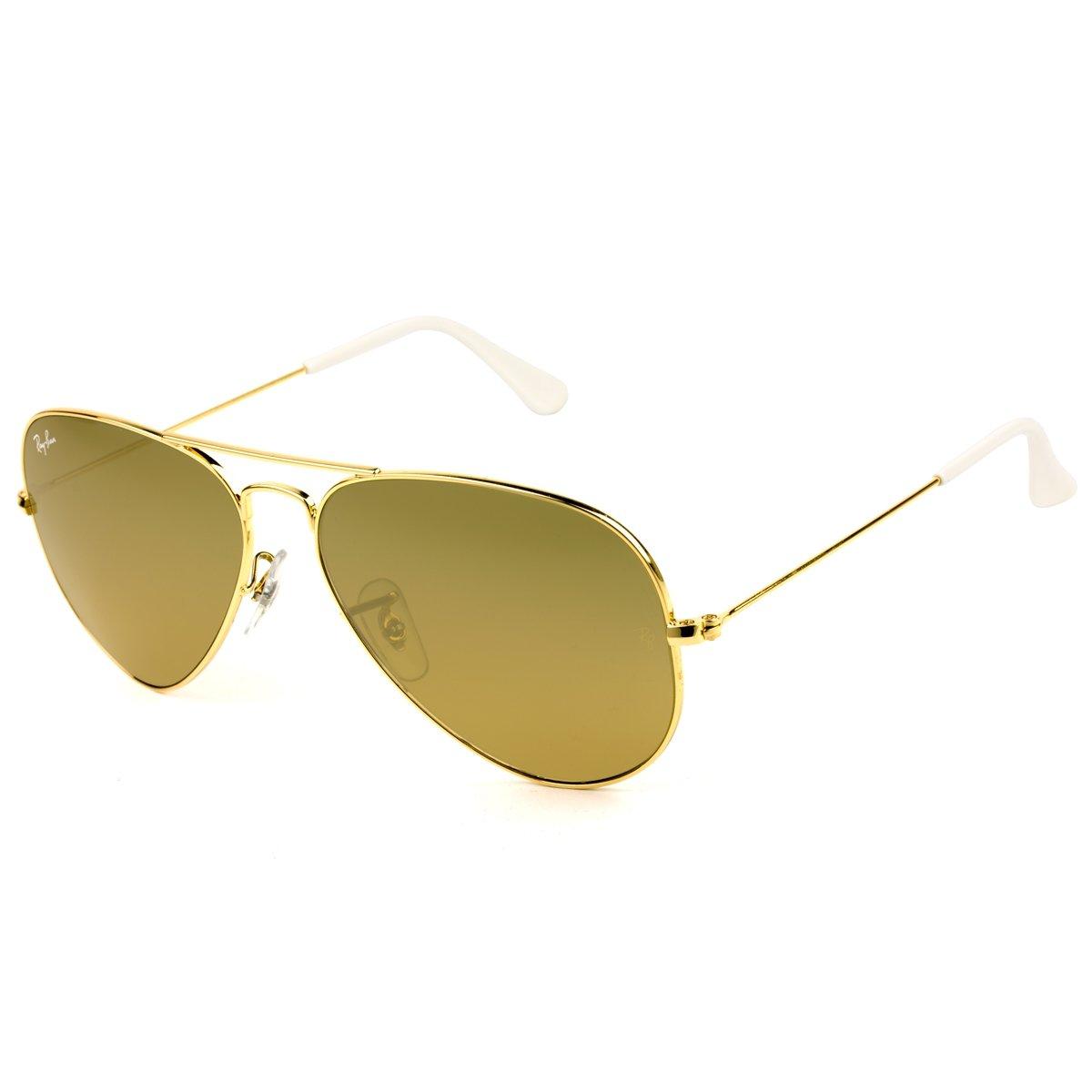 b7cc39aa7d59c Óculos de Sol Feminino Ray Ban   Óculos de Sol Ray Ban Aviador ...