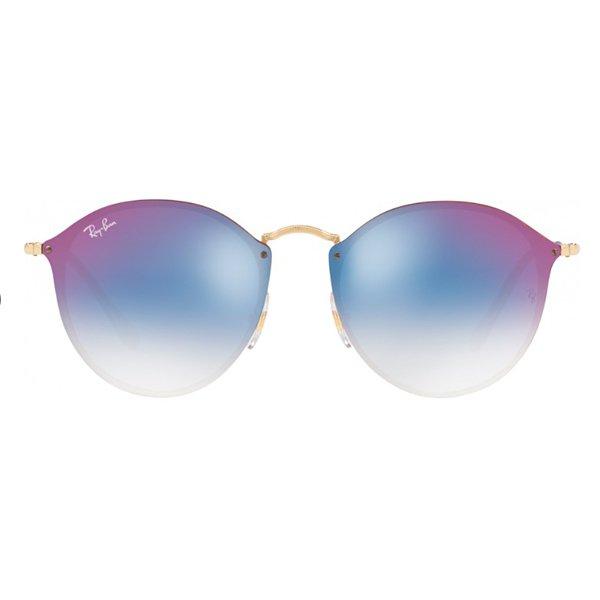 b1664088a5c90 Óculos de Sol Ray Ban Blaze Round RB3574N-001 X0 59