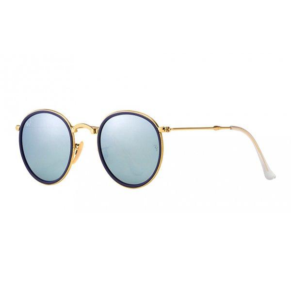 b6803f6bd Óculos de Sol Ray Ban | Óculos de Sol Ray Ban Round Dobrável RB3517 ...
