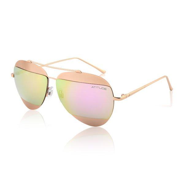 8689e0489 Óculos de Sol Feminino Atitude | Óculos de Sol Atitude AT3187-04A