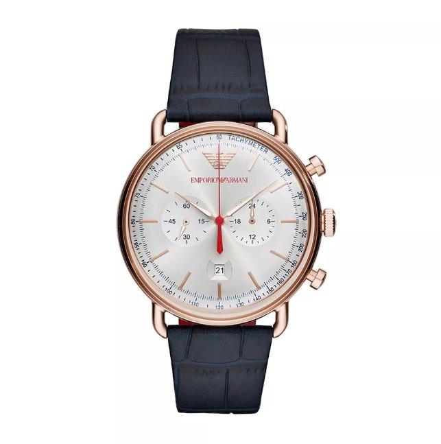 f2128d8ecdd32 Relógio Masculino Empório Armani   Relógio Emporio Armani Aviator ...