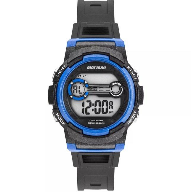 cfcf8c3689c Relógio Infantil Mormaii Nxt Preto MO0200 8A