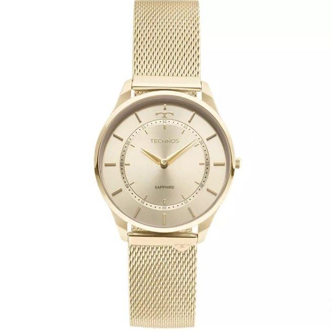 4499ab272e5f8 Relógio Technos Classic Slim 9T22AK 4X