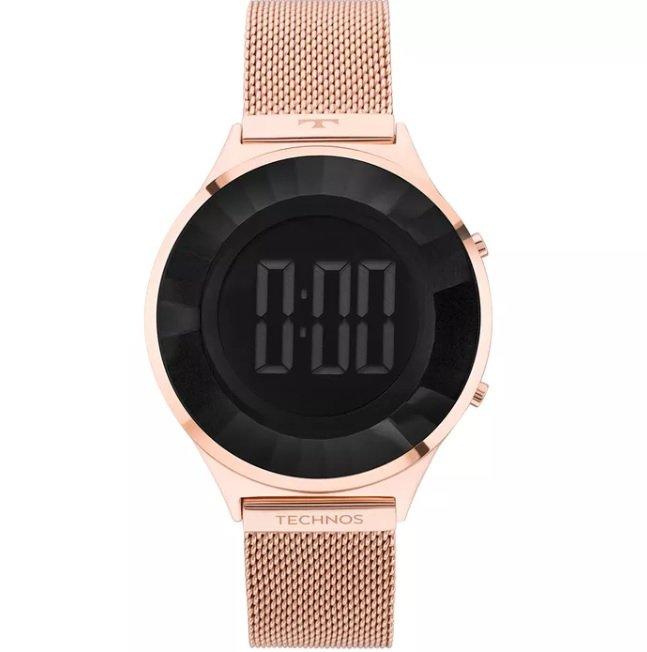 Relógio Feminino Technos   Relógio Technos Crystal Rosé BJ3572AD 4P 92676fcbbc