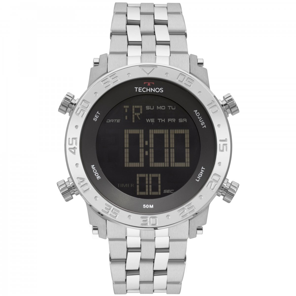 8434a124b89 Relógio Masculino · Technos · Relógio Technos Digital BJK006AB 1P