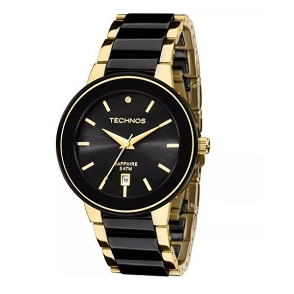 84a05bd79fc84 Relógio Technos Elegance Ceramic 2115KRS 4P